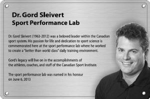 Dr. Gord Sleivert