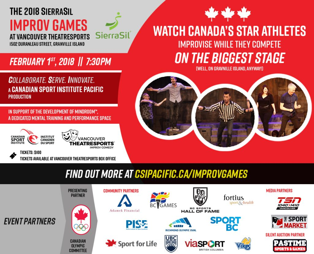 2018 SierraSil Improv Games at Vancouver TheatreSports