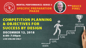 Sport Performance Speaker Series - Bruce Pinel - 181212