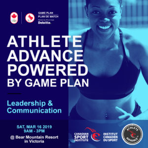 Athlete Advance 2019