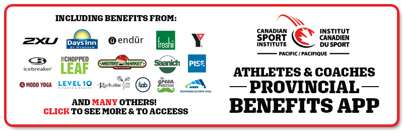 Athlete Coaches Provincial Benefits App