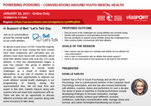 Powering Podiums - Conversations Around Youth Mental Health