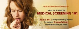 SPSS Sport Performance Speaker Series