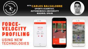SPSS - Sport Performance Speaker Series - 190521 - Carlos Balsalobre