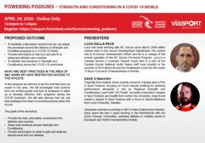 Powering Podiums - 200429 - Dalla Pace O'Mahony