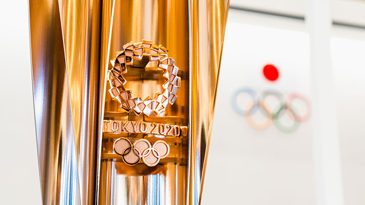 Tokyo 2020 Olympic banner